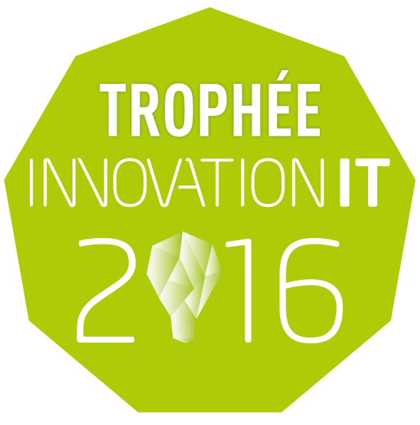 trophee innovation it 2016 award winner